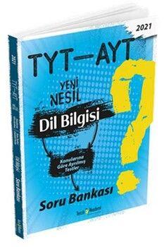 Tercih Akademi TYT AYT Dil Bilgisi Yeni Nesil Soru Bankası