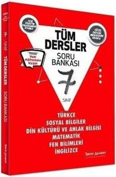 Tercih Akademi Yayınları 7. Sınıf Tüm Dersler Soru Bankası