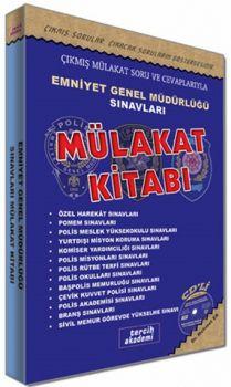 Tercih Akademi Yayınları Emniyet Genel Müdürlüğü Sınavları Sonrası Mülakat Kitabı CD\'li