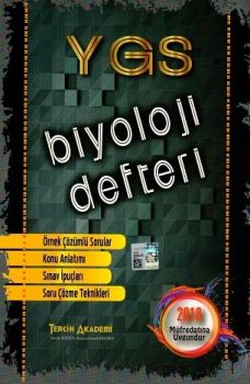 Tercih Akademi Yayınları YGS Biyoloji Defteri