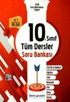 Tercih Akademi Yayınları 10. Sınıf Tüm Dersler Soru Bankası