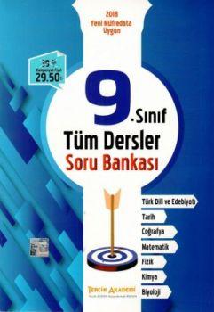 Tercih Akademi Yayınları 9. Sınıf Tüm Dersler Soru Bankası