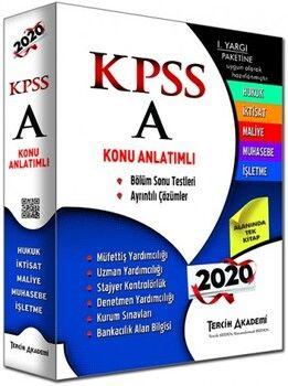 Tercih Akademi Yayınları KPSS A Grubu Konu Anlatımlı