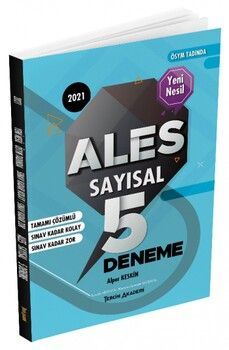 Tercih Akademi Yayınları ALES Sayısal 5 Deneme