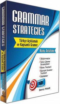 Tercih Akademi Yayınları Grammar Strategıes Türkçe Açıklamalı Kapsamlı Gramer Konu Anlatımı