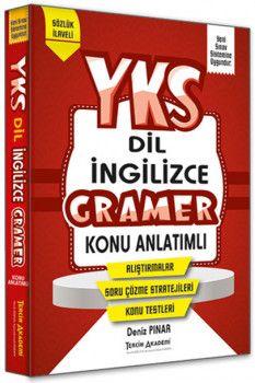 Tercih Akademi Yayınları YKSDİL İngilizce Gramer Konu Anlatımlı