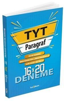 Tercih Akademi Yayınları TYT Paragraf 16 x 20 Deneme