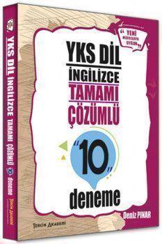 Tercih Akademi Yayınları YKSDİL İngilizce Tamamı Çözümlü 10 Deneme