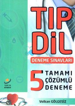 Tercih Kitapevi TIPDİL Tamamı Çözümlü 5 Deneme Sınavı