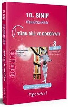 Test Okul 10. Sınıf Türk Dili ve Edebiyatı Fasikül Soru Kitabı