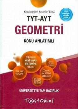 Test Okul Yayınları TYT AYT Geometri Konu Anlatımlı
