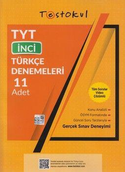 Test Okul Yayınları TYT Türkçe İnci 11 li Denemeleri
