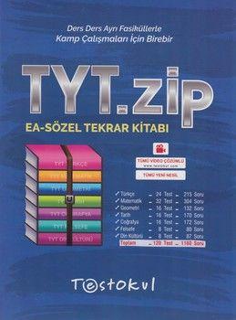 Test Okul Yayınları TYT Eşit Ağırlık Sözel Zip Tekrar Kitabı
