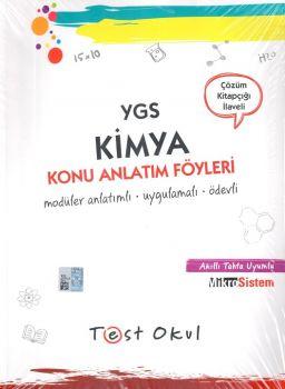 Test Okul Yayınları YGS Kimya Konu Anlatım Föyleri