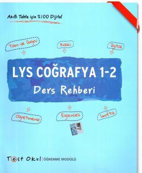 Test Okul Yayınları LYS Coğrafya 1 2 Ders Rehberi