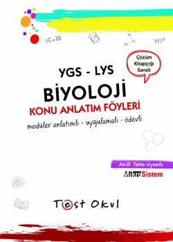 Test Okul YGS LYS Biyoloji Ders Anlatım Föyleri