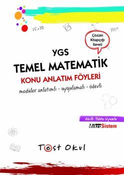 Test Okul YGS Temel Matematik Ders Anlatım Föyleri
