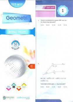 Testfen Yayınları TYT AYT Geometri Konu Testi