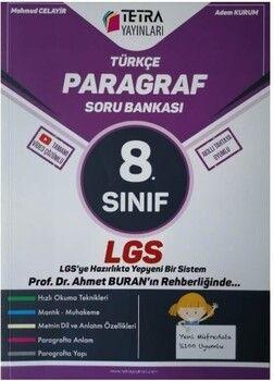 Tetra Yayınları 8. Sınıf LGS Paragraf Soru Bankası