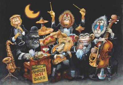 The New Nairobi Jazz Band 500 Parça Puzzle - Yapboz