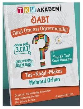 TKM Akademi ÖABT Okul Öncesi Öğretmenliği Yaprak Test Soru Bankası Çözümlü 3. Cilt