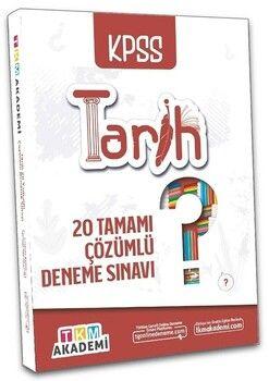 TKM Akademi KPSS Tarih 20 Deneme