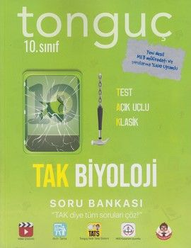 Tonguç Akademi 10. Sınıf TAK Biyoloji Soru Bankası