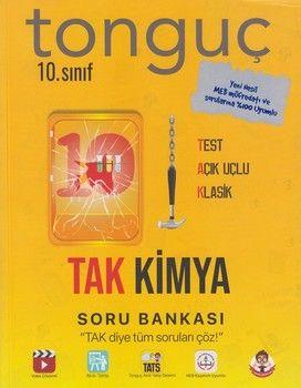 Tonguç Akademi 10. Sınıf TAK Kimya Soru Bankası
