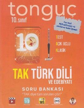 Tonguç Akademi 10. Sınıf TAK Türk Dili ve Edebiyatı Soru Bankası