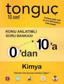 Tonguç Akademi 10. Sınıf 0 dan 10 a Kimya Konu Anlatımlı Soru Bankası