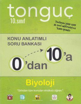 Tonguç Akademi 10. Sınıf 0 dan 10 a Biyoloji Konu Anlatımlı Soru Bankası