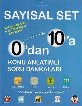 Tonguç Akademi 10. Sınıf 0 dan 10 a Sayısal Set Konu Anlatımlı Soru Bankaları