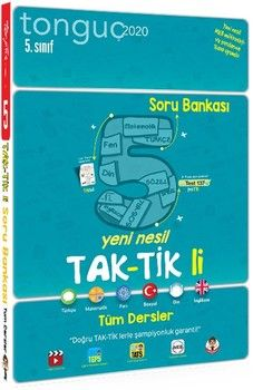 Tonguç Akademi 5. Sınıf Tüm Dersler Taktikli Soru Bankası