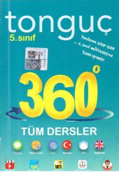 Tonguç Akademi 5. Sınıf 360 Serisi Tüm Dersler Soru Bankası