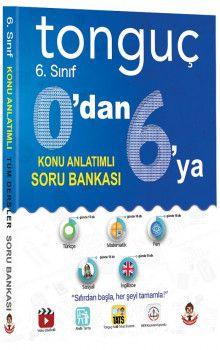 Tonguç Akademi 6. Sınıf Tüm Dersler 6 dan 0 a Konu Anlatımlı Soru Bankası