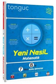 Tonguç Akademi 7 den 8 e Matematik Yeni Nesil soru Bankası