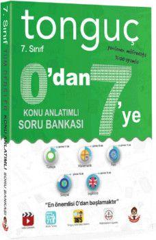 Tonguç Akademi 7. Sınıf 0 dan 7 ye Tüm Dersler Konu Anlatımlı Soru Bankası