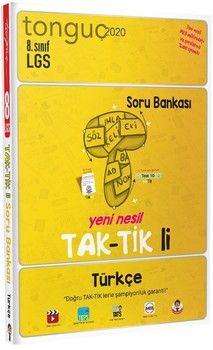 Tonguç Akademi 8. Sınıf LGS Türkçe Taktikli Soru Bankası