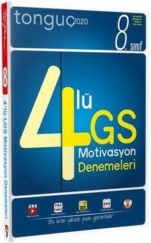 Tonguç Akademi 8. Sınıf LGS 4 lü Motivasyon Denemeleri