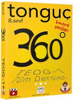 Tonguç Akademi 8. Sınıf TEOG 1 Tüm Dersler 360 Kontrol Testleri Cep Boy