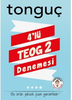 Tonguç Akademi 8.Sınıf TEOG 2. Dönem 4 lü Deneme