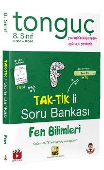 Tonguç Akademi 8. Sınıf TEOG Fen Bilimleri TAK-TİK li Soru Bankası