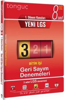 Tonguç Akademi 8. Sınıf LGS 1. Dönem Konuları Geri Sayım Denemeleri 3