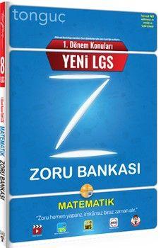 Tonguç Akademi 8. Sınıf 1. Dönem Konuları Matematik Zoru Bankası