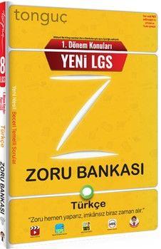 Tonguç Akademi 8. Sınıf 1. Dönem Konuları Türkçe Zoru Bankası