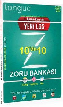 Tonguç Akademi 8. Sınıf LGS1.Dönem 10 da 10 Zoru Bankası