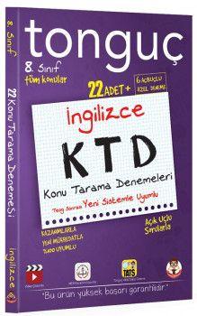Tonguç Akademi 8. Sınıf İngilizce KTD Konu Tarama Denemeleri