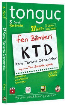 Tonguç Akademi 8. Sınıf Fen Bilimleri KTD Konu Tarama Denemeleri