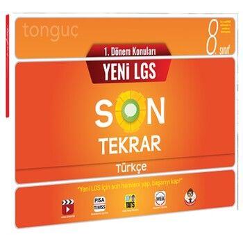 Tonguç Akademi 8. Sınıf LGS 1. Dönem Türkçe Son Tekrar