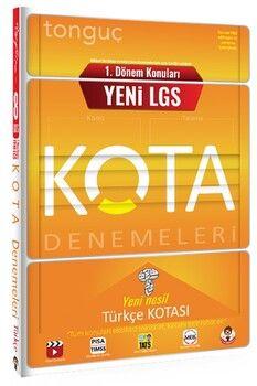Tonguç Akademi 8. Sınıf Yeni LGS 1. Dönem Konuları Türkçe KOTA Denemeleri